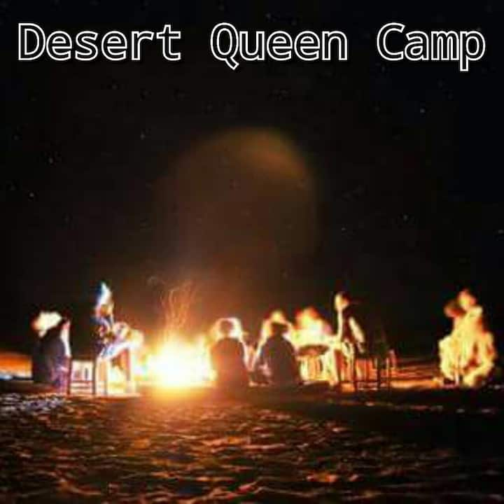 Typical luxury camp and camel trekking experience