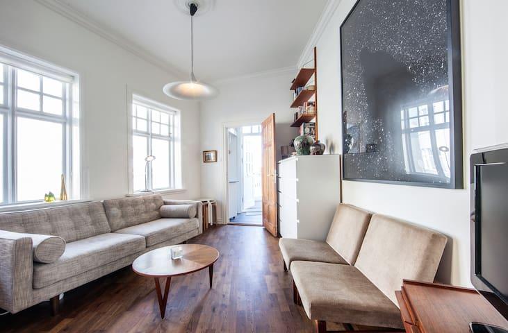 GREAT LOCATION - cozy downtown apt - Reykjavik - Lägenhet