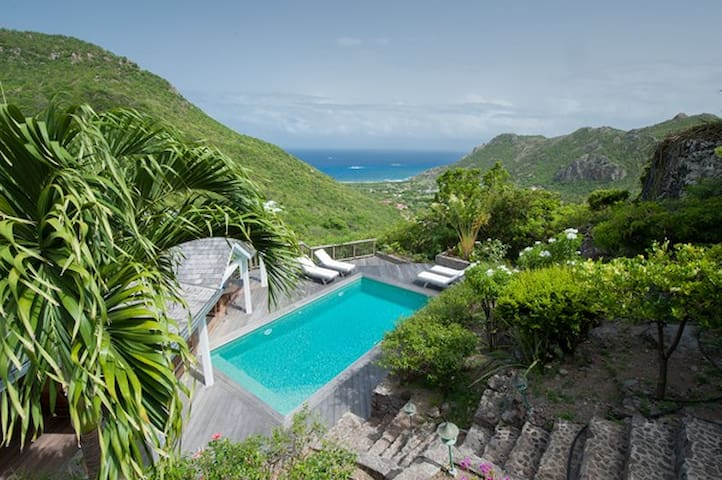 Ideal 2-bedrm villa/ 1 or 2 couples - Saint-Barthélemy - Villa