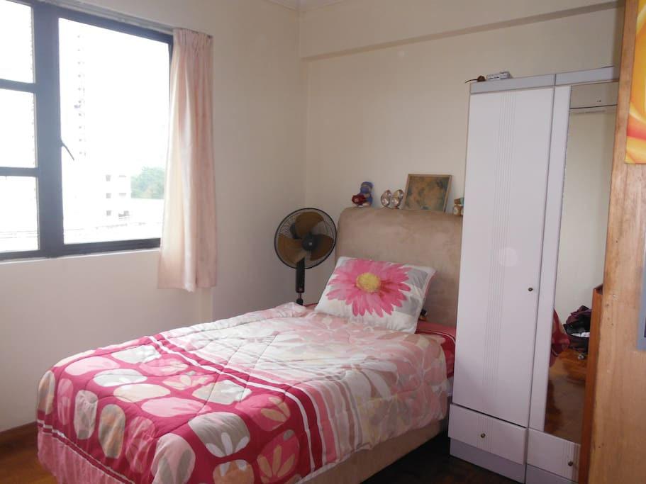 Room with air conditioining