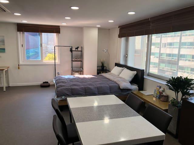 해운대 해변5분거리! 달맞이 모던 하우스 #커플여행 Haeundae modern house