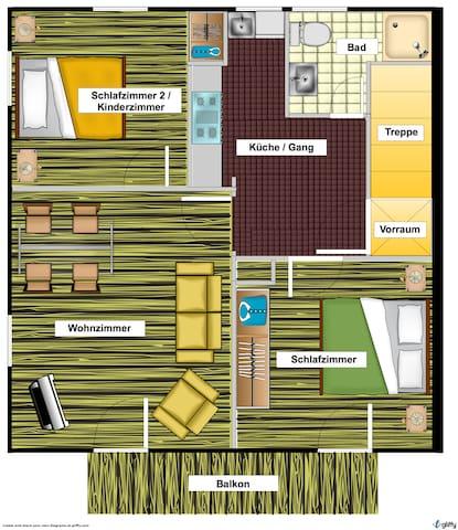 Grundriss / Floorplan