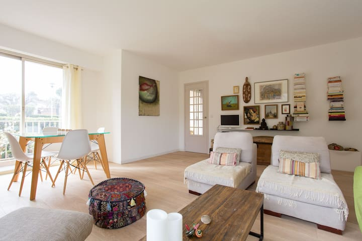Nice 3 rooms in Antibes - Antibes - Apartamento
