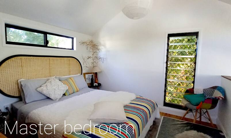 Master bedroom have a stunning view, relax privacy and storage space