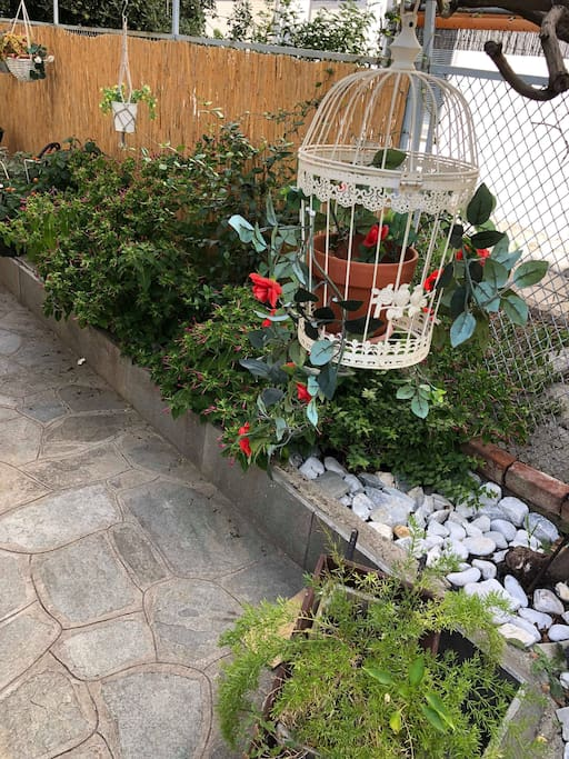 Stylish garden decoration