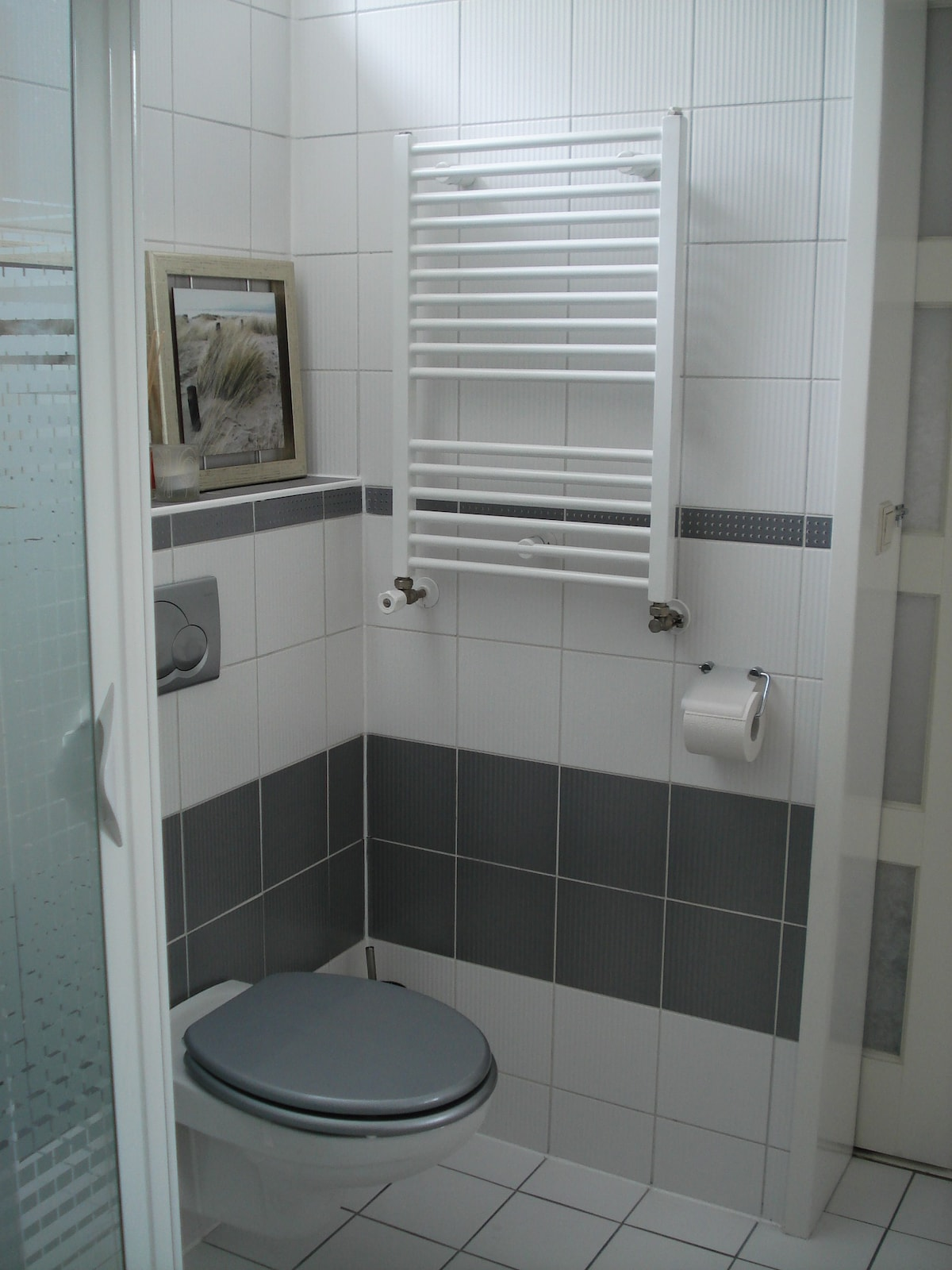 ... Your Own Toilet And Heating In The Bathroom