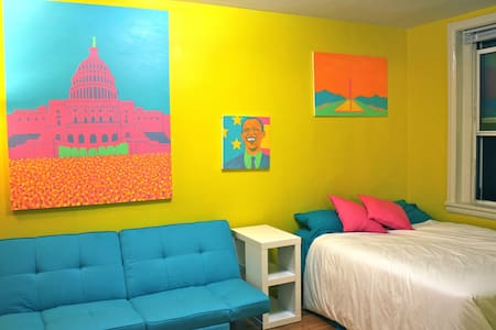 Sweet DC Themed Apartment in Dupont - Washington - Apartment