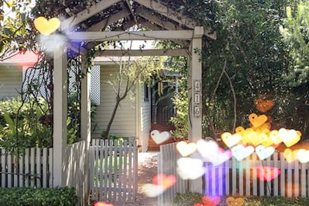 Craftsman Home #3, Tropical Garden - サンタバーバラ - 一軒家