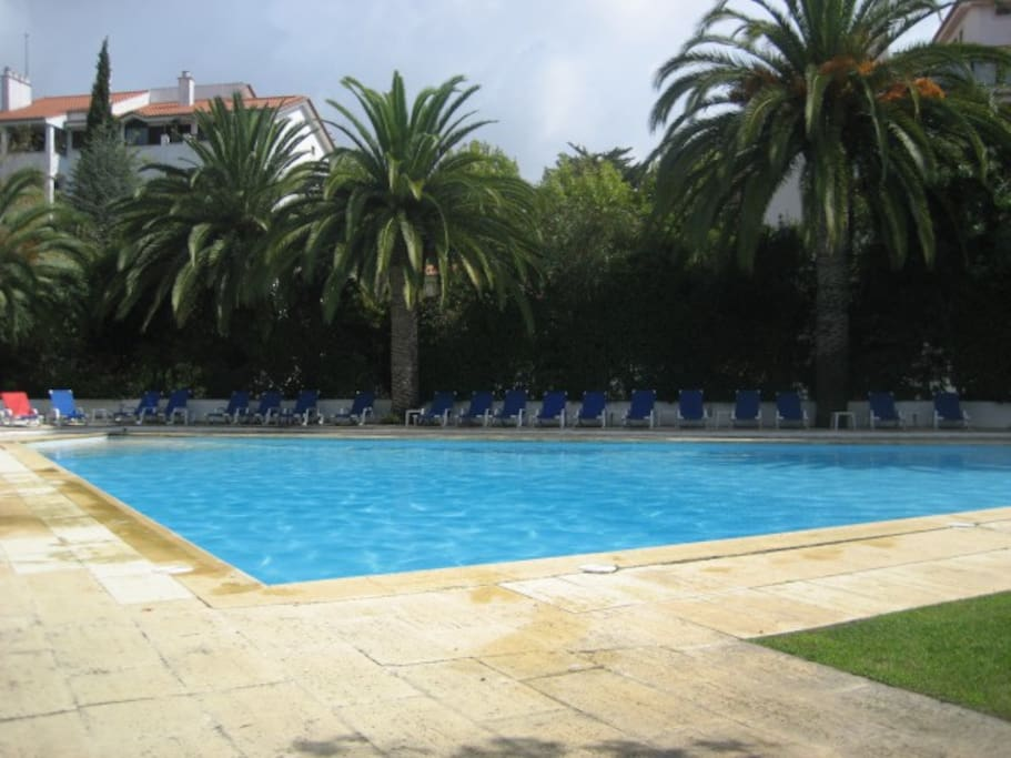 Estoril Beach Pool Wifi Gym Tenis Apartments For Rent