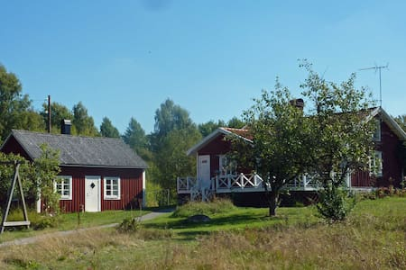 Two cottages in beautiful Smaland