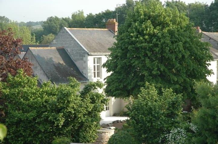 exceptionnal village on the Loire - Béhuard - Casa