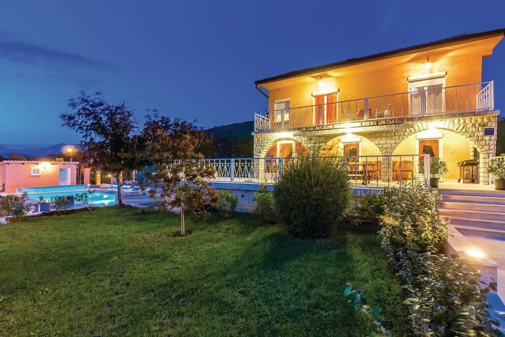 Villa Rustica outside view