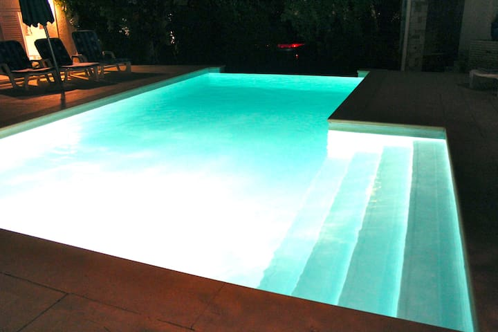 Swimming Pool with Sunbeds