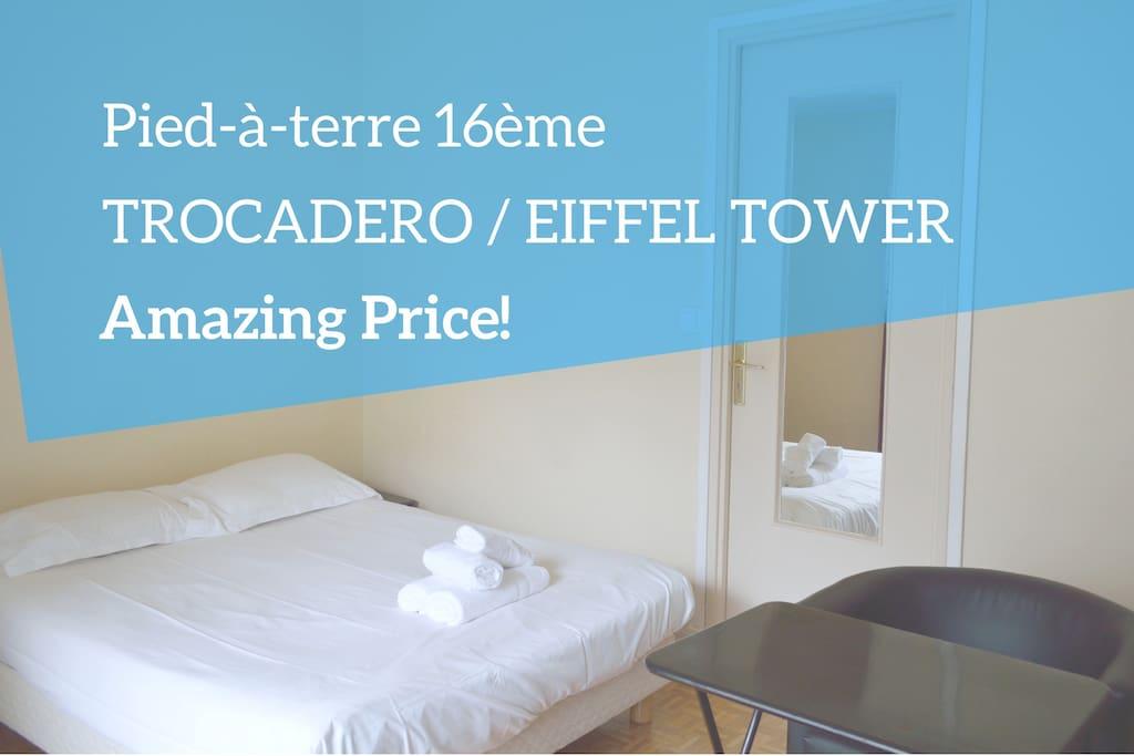 Pied Terre Eiffel Tower Amazing Price Apartments For Rent In Paris Le De France France
