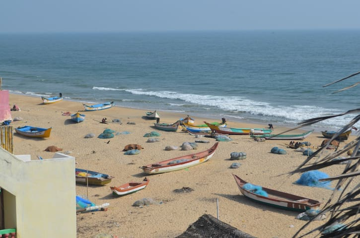 Home-stay Near the Beach -Free Wifi - Mahabalipuram - House