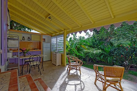 Cottage caribbean style with garden - Cole Bay - Bungalow