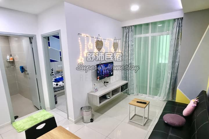 Superb Fairy Theme Sutera Avenue (2BR)