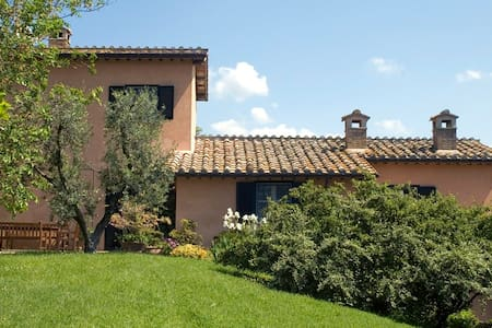 Charming Farmhouse on Umbrian Hills - Lugnano In Teverina - 别墅