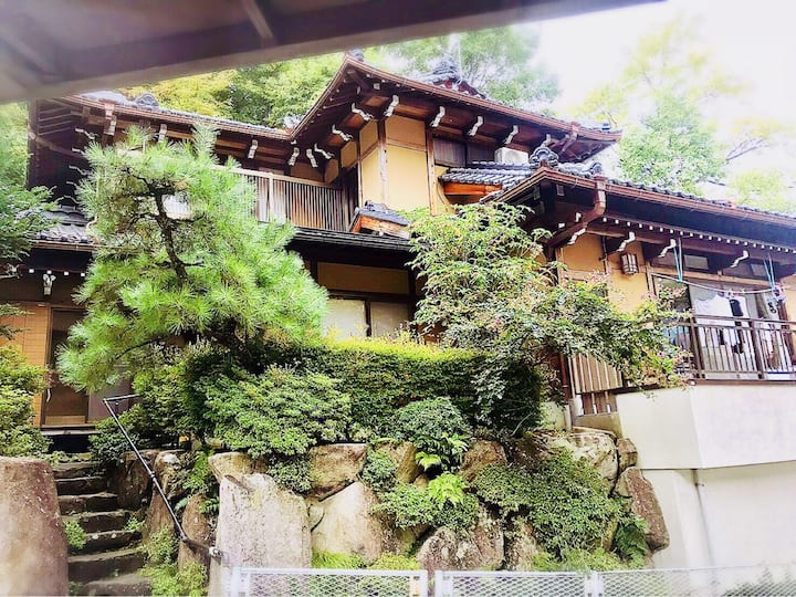 Japanese traditional house 12 people  stay a max