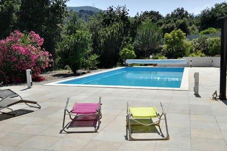 F2 DUPLEX 8 min plage piscine 5x12m - Borgo