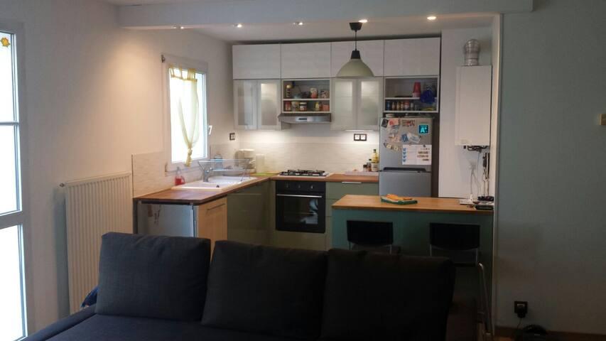 Appartement 2 pièces centre ville Saint Quentin