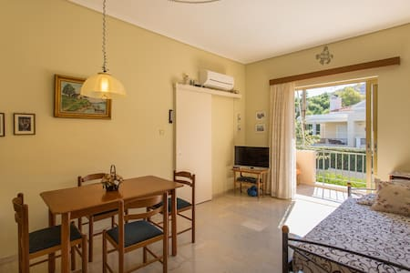 Appartment 48 sq.m 100m walk from beach - Saronida