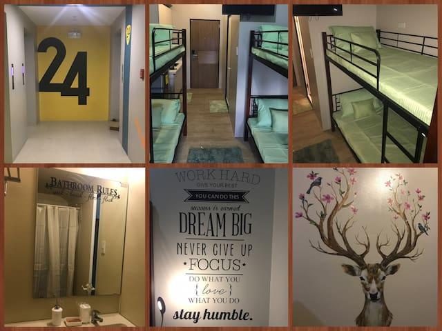 Fully furnished unit in Taft Manila w/ Aircon 24F