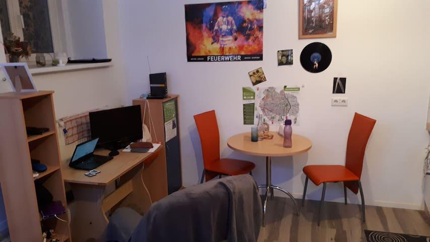 Einraumwohnung an der Neiße in Görlitz - 25 m²