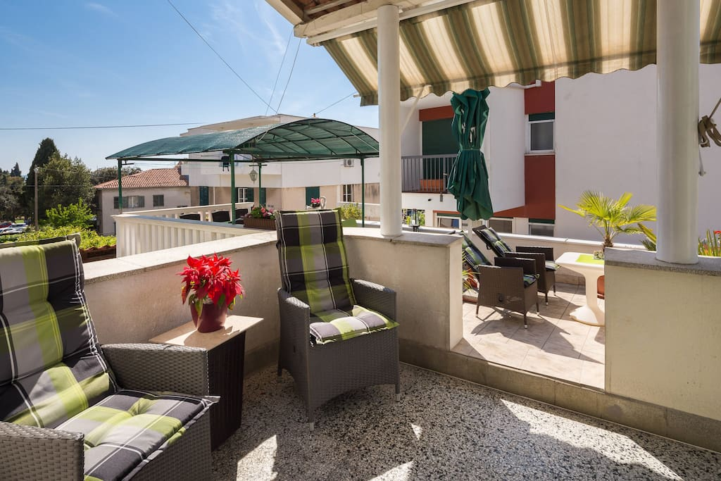 Patio and Terrace - only for you
