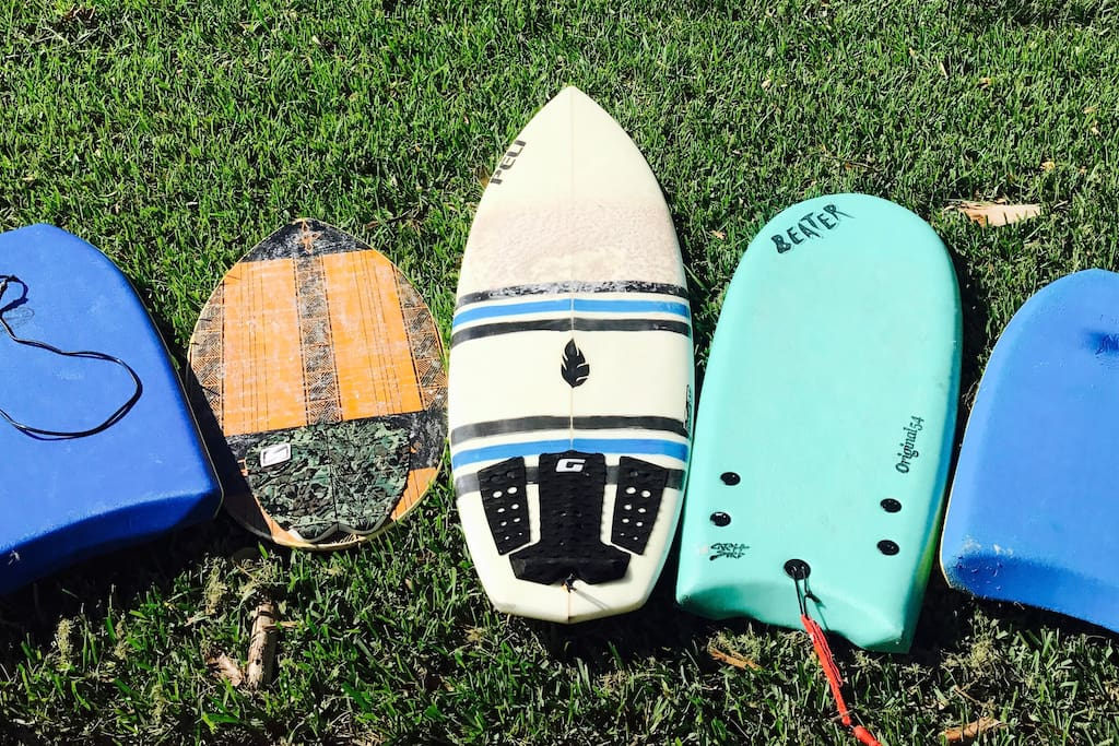 Plenty of beach accessories!