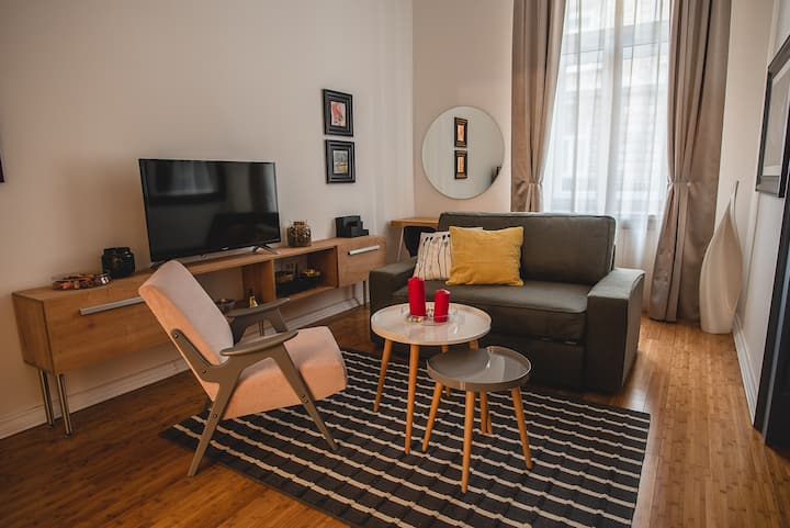 Mondo apartment in Zagreb city center