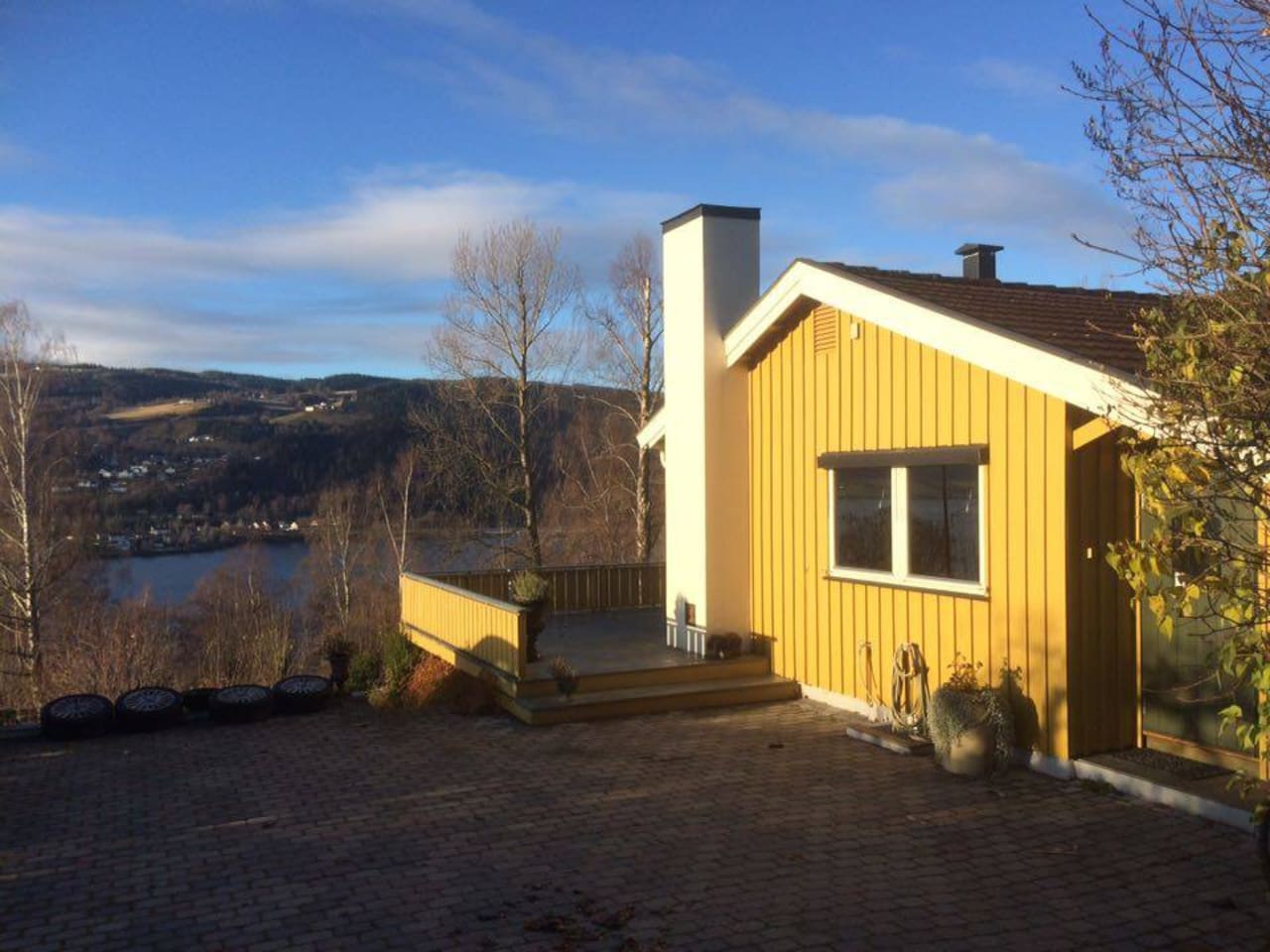 Great view in Central Lillehammer