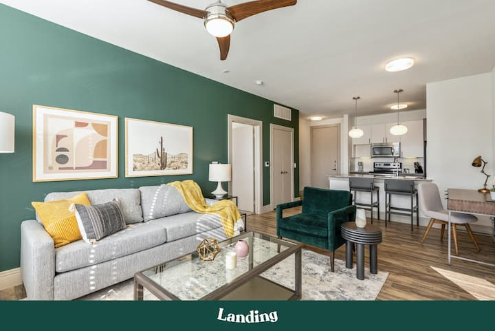 Landing | Modern Apartment with Amazing Amenities (ID833)