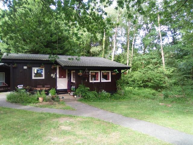 homely wood chalet min 3or4nights(wkends/week)