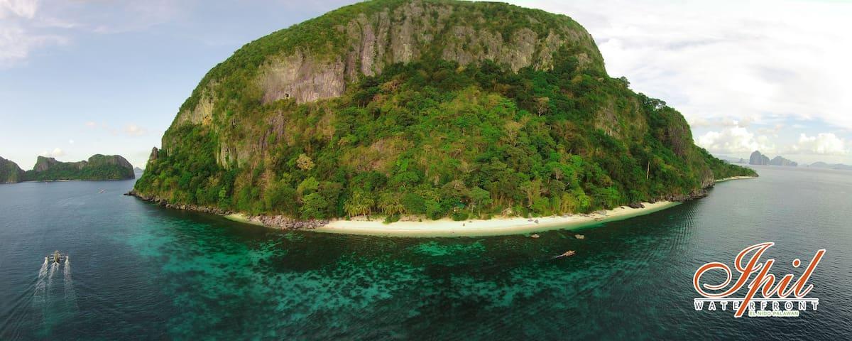 Private Island: Ipil Waterfront - El Nido