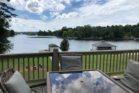 True Lakefront Home w/ Private Dock & Yard