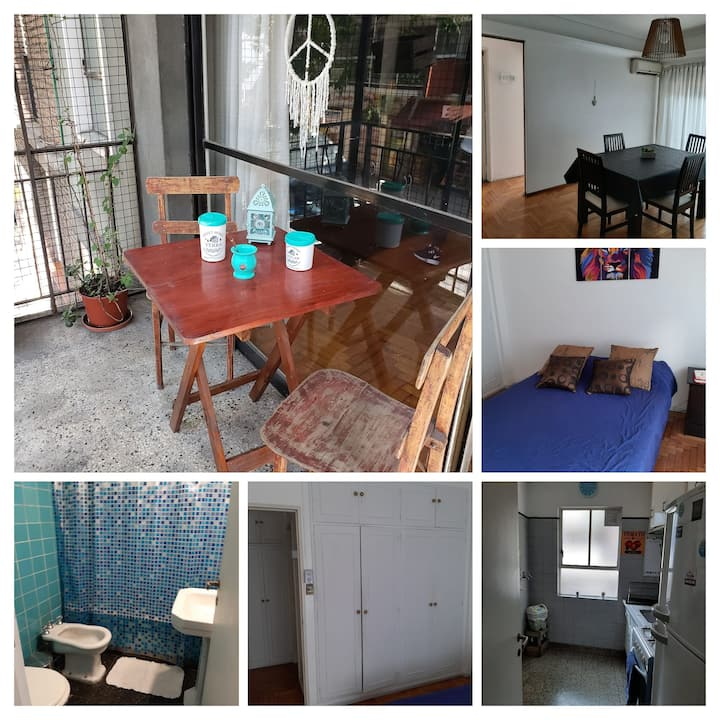 Great location, Cozy Barrio Norte Apartment