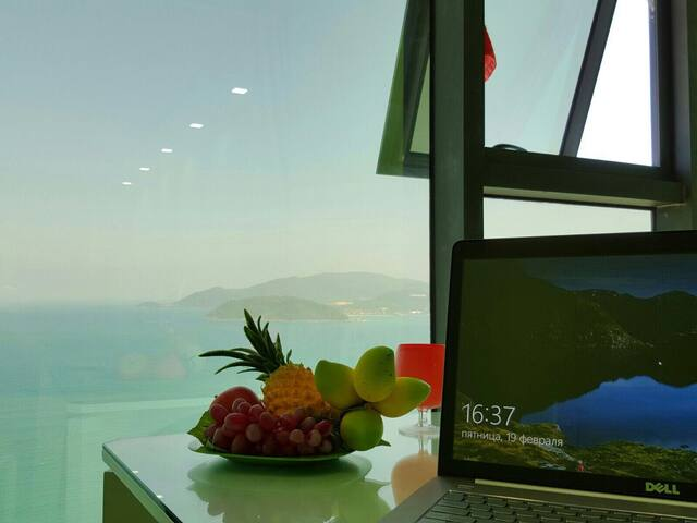 Sea view from a height of 45 floors. - tp. Nha Trang - Apartment