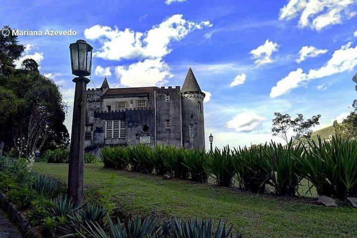 Castelo de Montebello de Teresópolis - Teresópolis - Castillo
