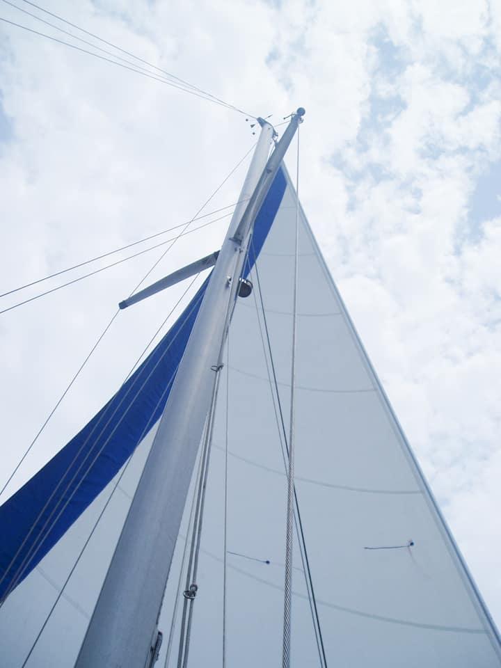 Raise a sail
