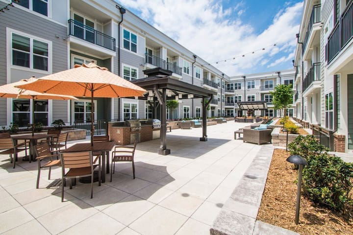Stay as long as you want   1BR in Charlotte