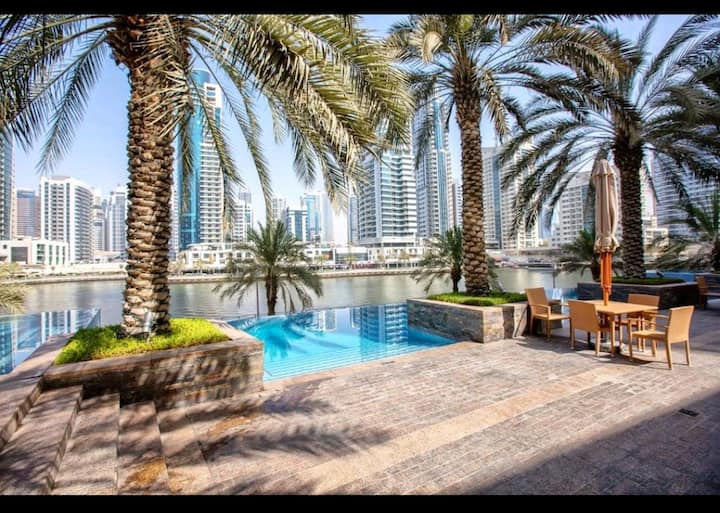 Dubai Marina & JBR . 1 Bedroom Flat. Park island.