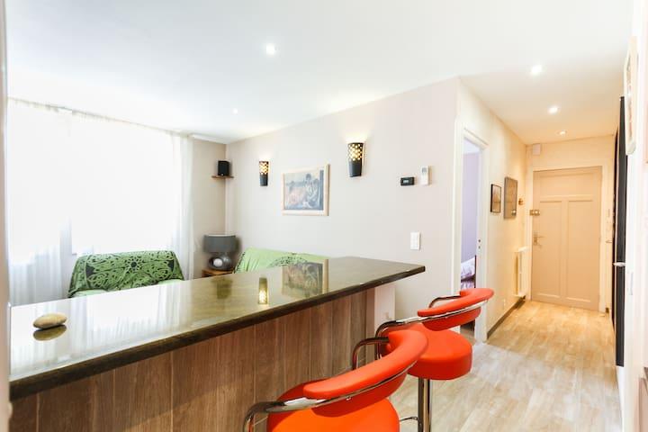 charming cosy apartment 50M2  city - Perpignan - Apartment