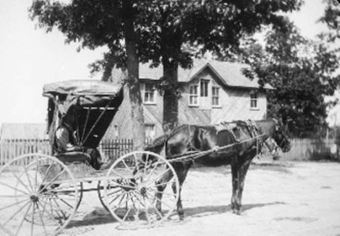 Alexander-Perrigo House circa 1884