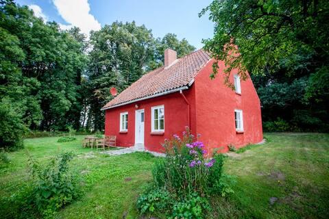 Rustic Holidayhouse Waldhaus, Mecklenburg