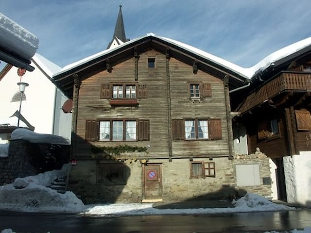 Charming house in ch-mountains