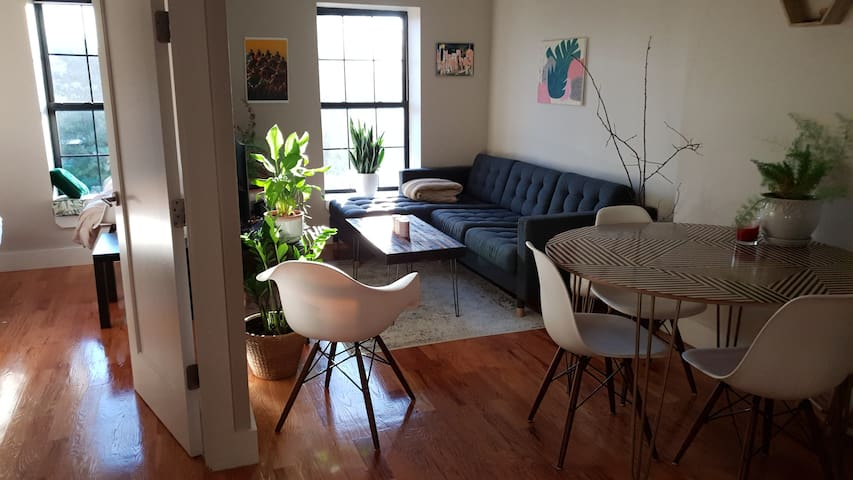 Nice room in renovated apartment in Brooklyn