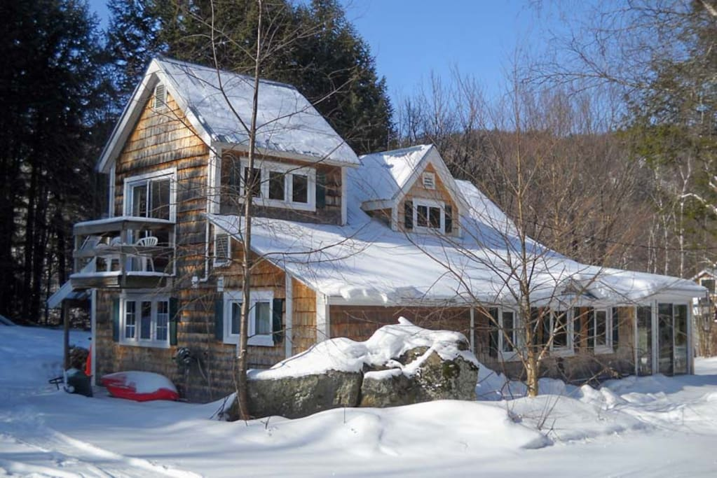 Winter Picture of the Cottage