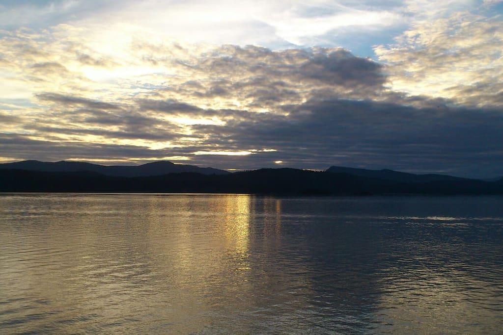 beautiful photo by friend view of dunmanus bay
