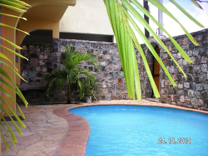 Exotic Villa on Coastal Rd,Private Pool,Mon Choisy